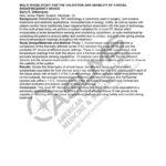 DiBernardo Multi Phase Study For The Validation and Usability