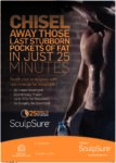 SculpSure Male Gym Poster