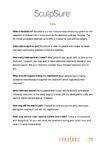 SculpSure Patient FAQs
