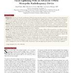 Facial Tightening with Advanced 4 MHz RF, Taub, Journal Drugs Dermatolog....unlocked